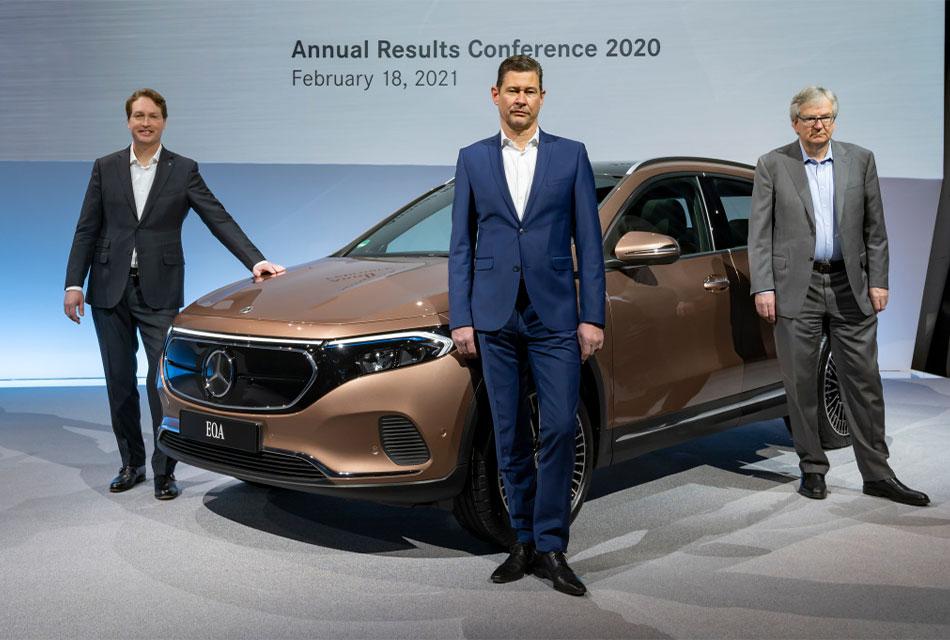 En 2020 los resultados financieros fueron mejores de lo esperado aún en medio de la pandemia por el coronavirus y, aunque todavía no se sabe cuándo terminará esta situación, el Grupo Daimler confía en el 2021