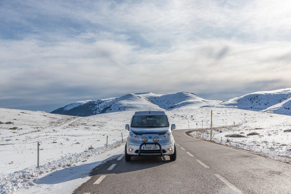 Presenta Nissan la Van Winter Camper Concept