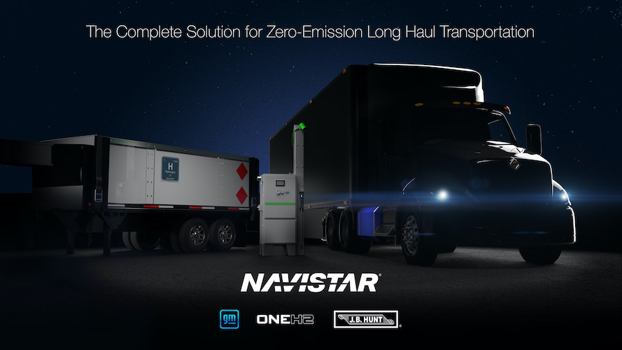 Navistar y GM van por camiones hidrógeno