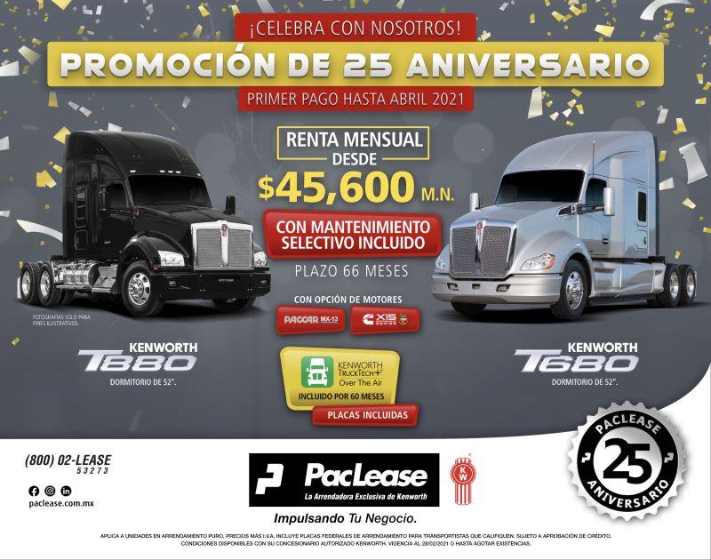 25 años de operaciones en México de PacLease