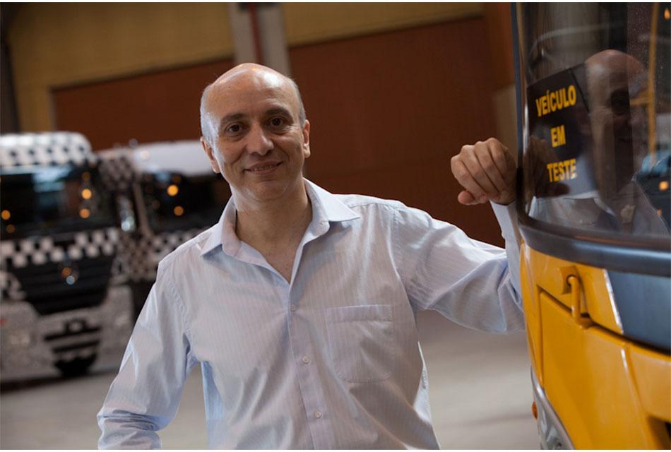 Paschoal Federico nuevo Director en Mercedes-Benz Autobuses