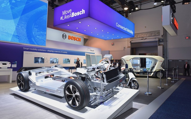 Propulsión eléctrica, enfoque de Bosch