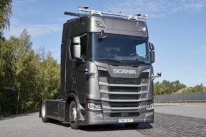 Scania autónomo Magazzine del Transporte