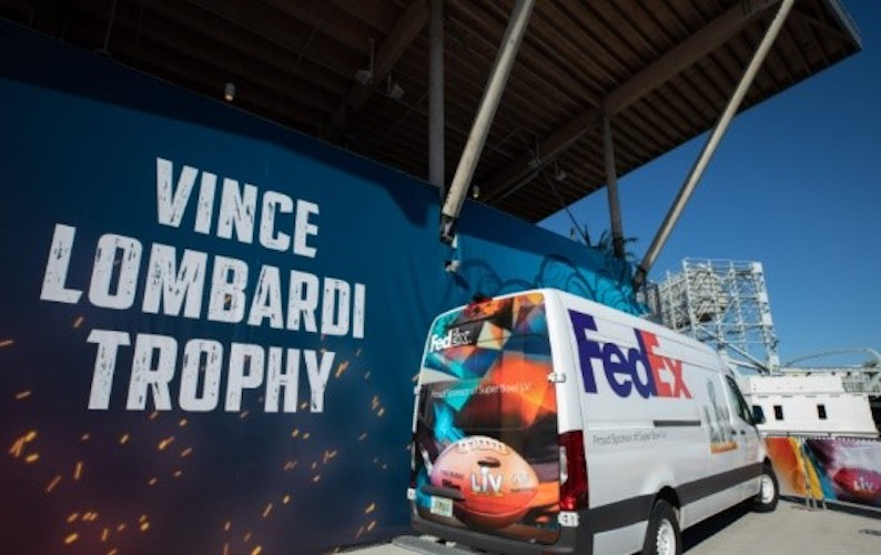Trofeo Vince Lombardi ya está en Tampa