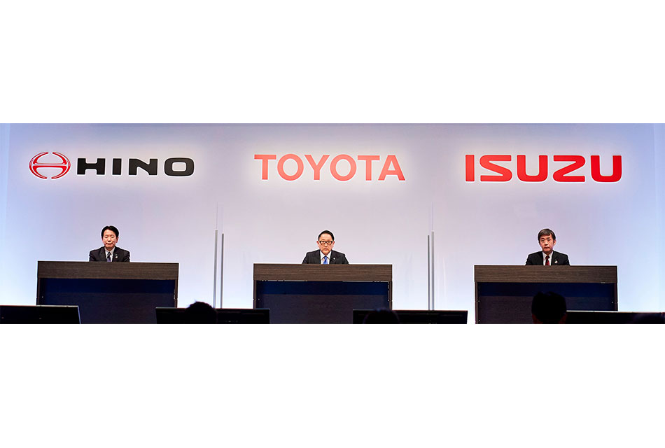 Toyota- Isuzu- Hino