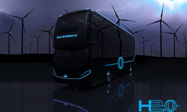 Autobús de hidrógeno DD Alexander Dennis