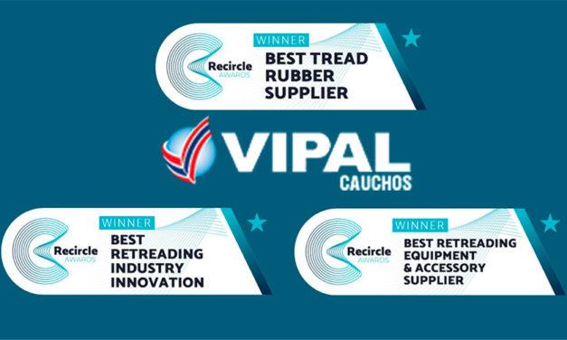 Entregan 3 Recircle Awards a Vipal Cauchos