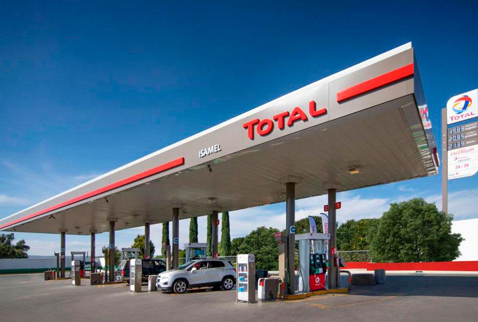 Gasolineras de Total buscan excelencia en el servicio