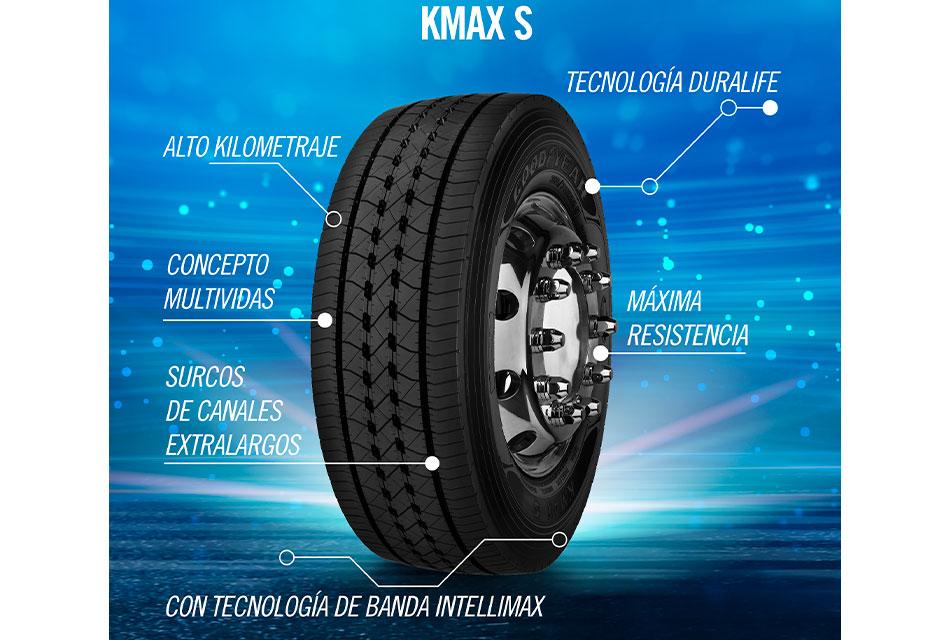 Kmax S, los nuevos neumáticos de Goodyear