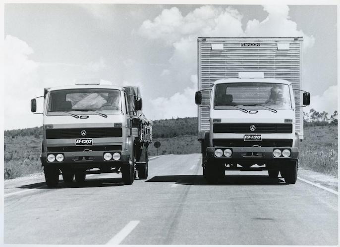 Los primeros camiones VW salieron hace 40 años