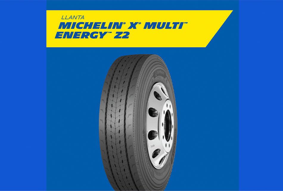 Con Multi Energy Z2 de Michelin, mayor eficiencia para las flotas