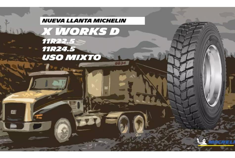 Michelin X Works D para los caminos más rudos