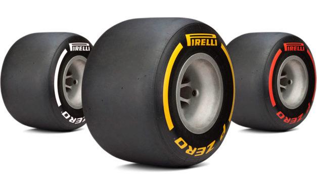Pirelli probará neumáticos F1 de 18 pulgadas
