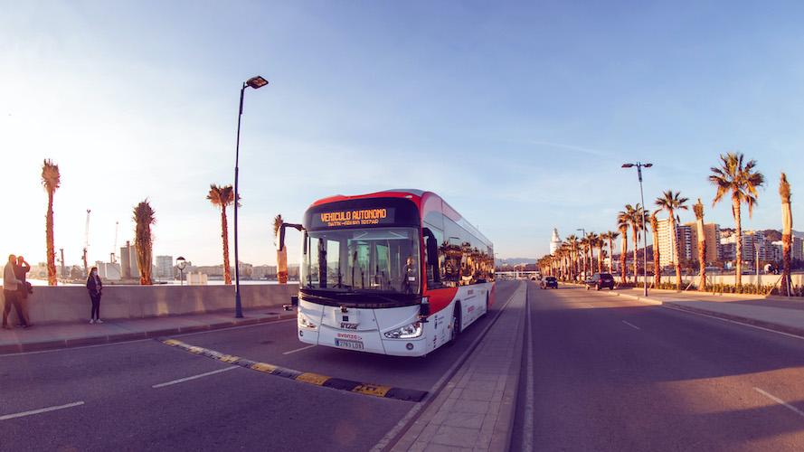 Piloto de Mobility ADO con bus eléctrico autónomo