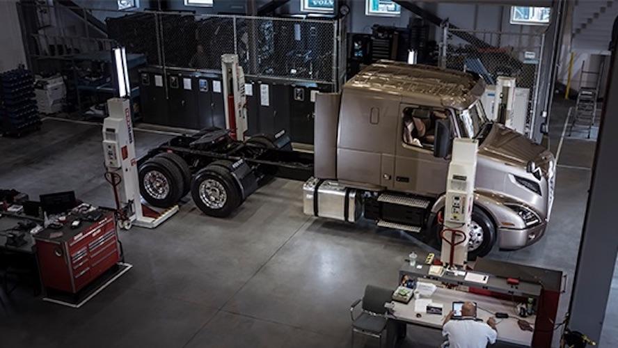 Postventa de Volvo a clientes Canacar garantizada