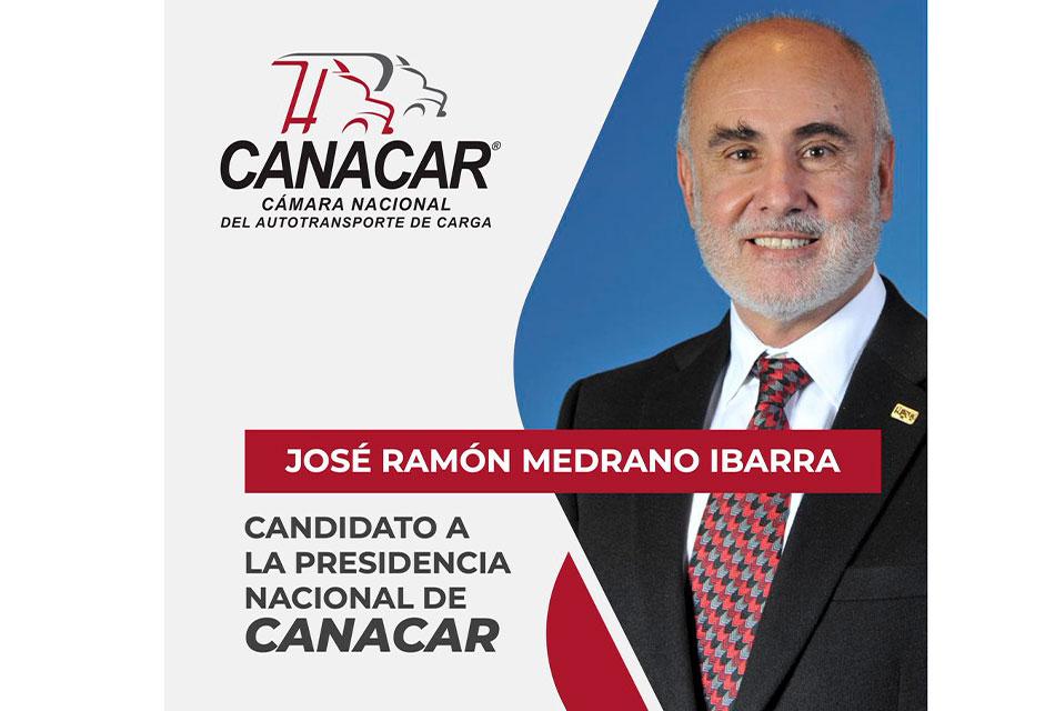 Ramón Medrano, candidato para presidir Canacar