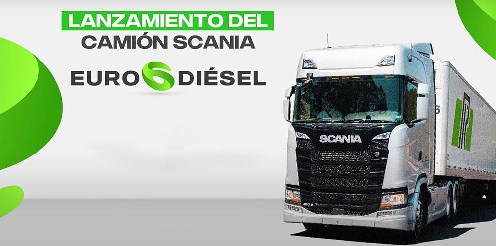 Tecnología Euro 6 a diesel llega con Scania
