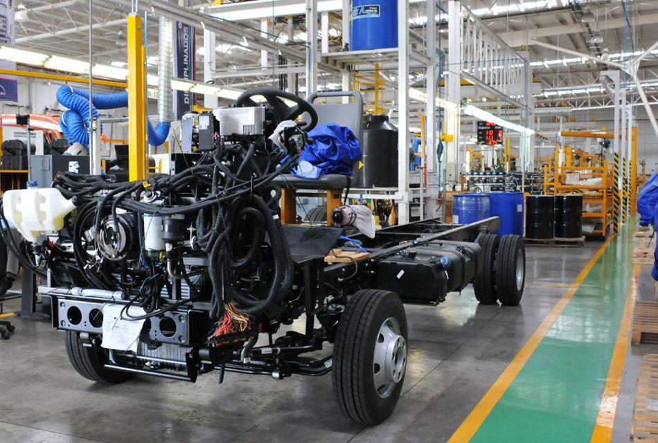 Destaca MX en producción y exportación de pesados