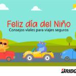 Consejos de Bridgestone para seguridad de los niños