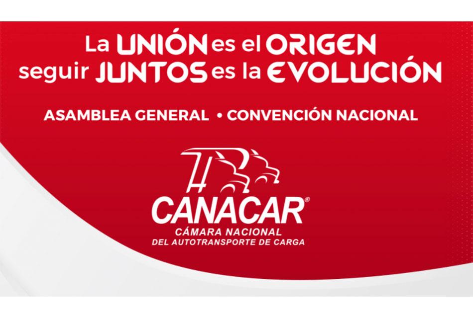 Canacar realizará Convención Nacional en septiembre