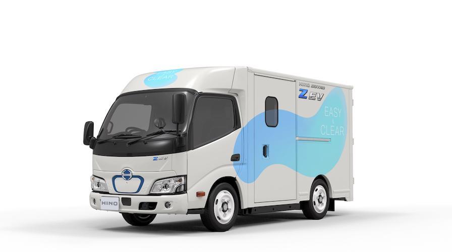 Hino desarrolla un camión eléctrico de uso liviano