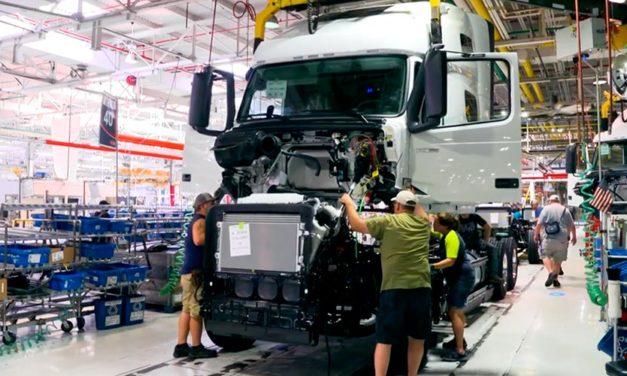 Huelga en planta de Volvo Trucks North America