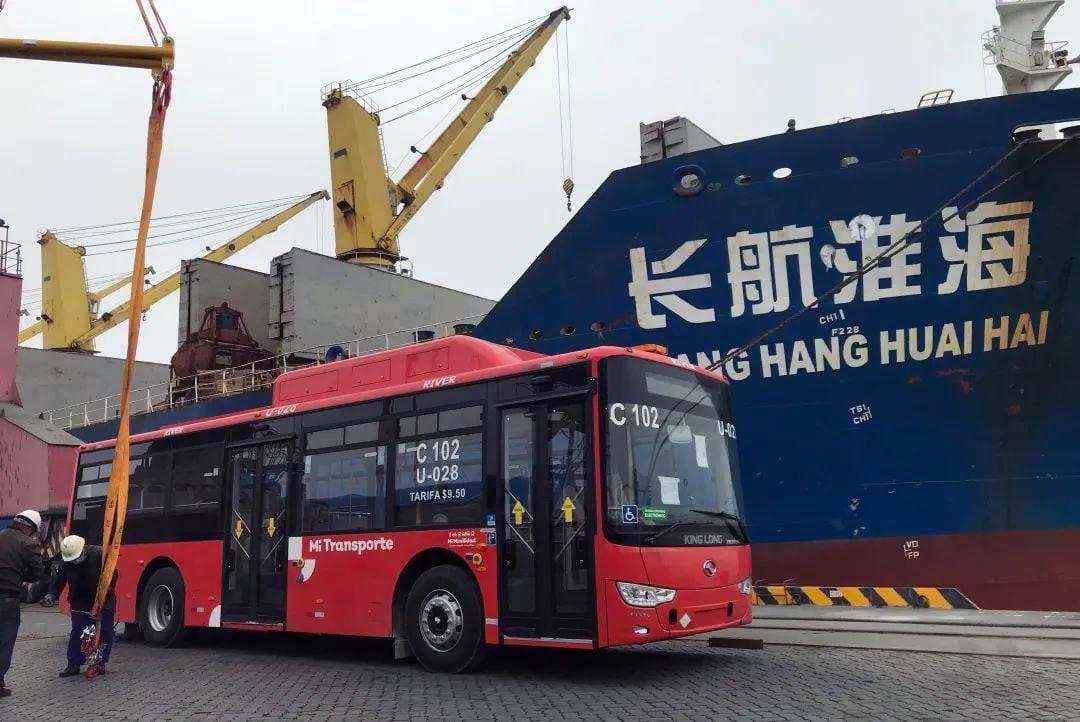 King Long trae 166 autobuses para MiTransporte