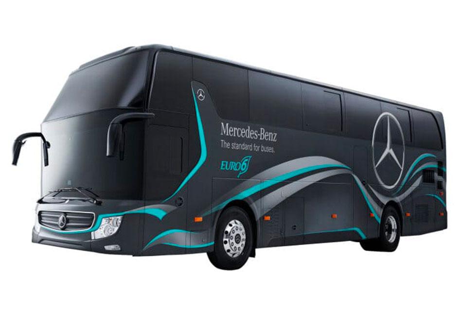 2 lanzamientos de Daimler Buses en el mundo