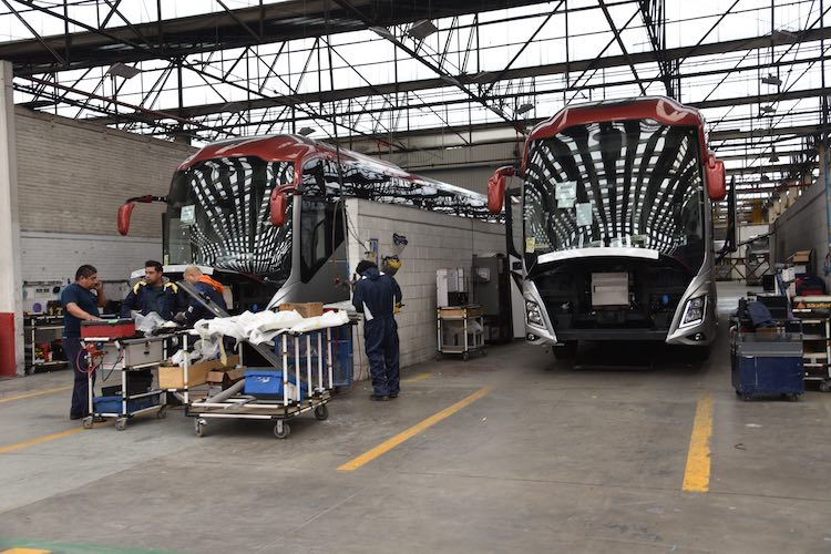 LeanManufacturing esencial para Volvo Buses