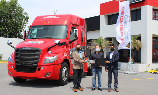 Un Alpha Truck de Freightliner para TLN