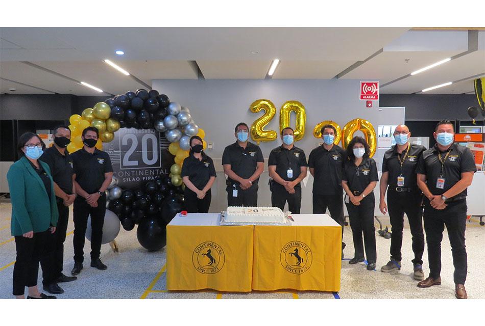 20 años cumple la Planta Continental de Silao-FIPASI
