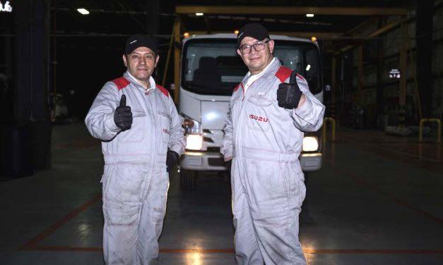 Centro Técnico Isuzu capacita a 1,516 colaboradores