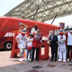 Diablos Rojos del México estrenan autobús de ADO