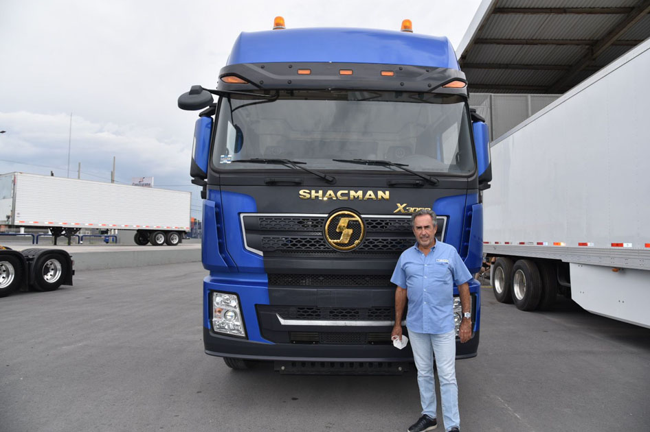 HWT Shacman Gabriel García