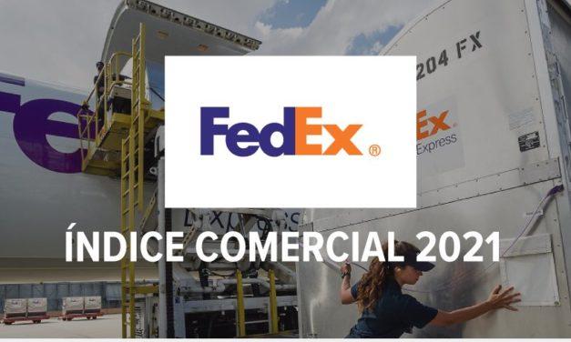 Índice Comercial 2021 de FedEx sobre pymes