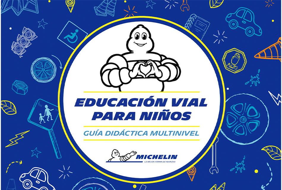 Promueve Michelin la educación vial en niños