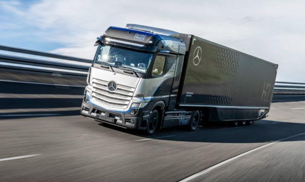 Prueba Daimler Trucks el Mercedes-Benz GenH2