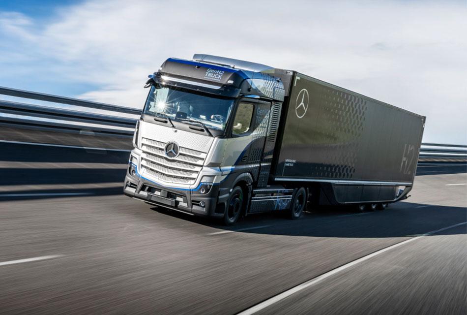 Prueba Daimler Trucks su camión Mercedes-Benz GenH2