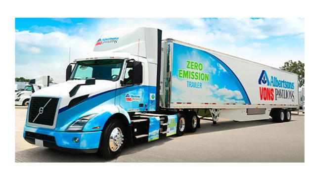 Primera entrega de comestibles sin emisiones