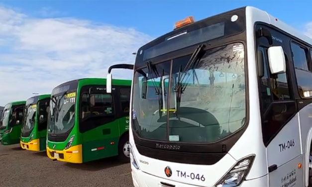 Revista a 336 nuevas unidades de Mi Transporte