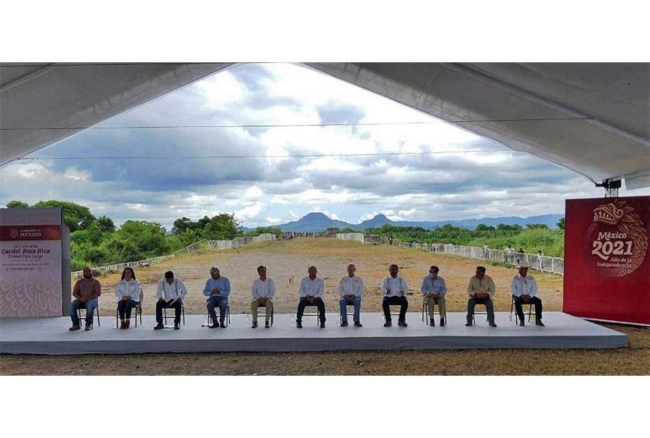 Tendrá 128 km autopista Cardel-Poza Rica