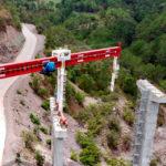 Supervisan obras de la autopista Mitla-Tehuantepec