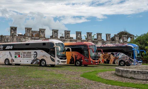 Autobuses ADO difunden riqueza cultural