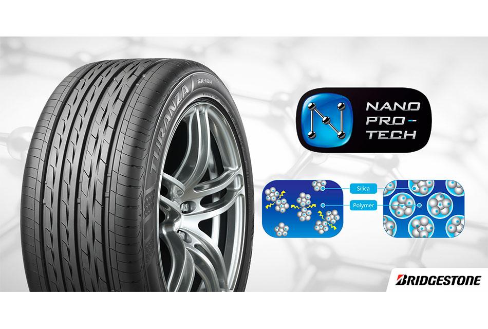 Tecnologías patentadas de Bridgestone