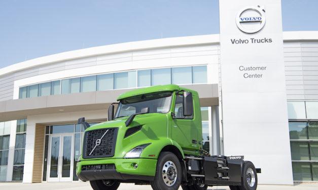 Crece la preferencia por los Volvo VNR eléctricos
