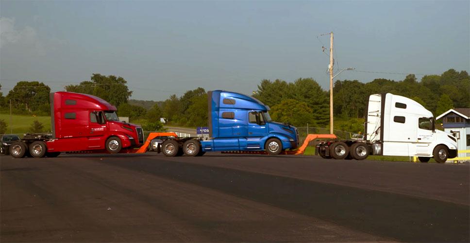 Demanda de camiones Clase 8 baja en mayo