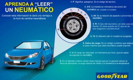 Conoce tus neumáticos con Goodyear