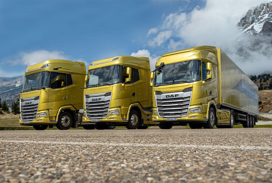 Presentan nueva generación de camiones DAF