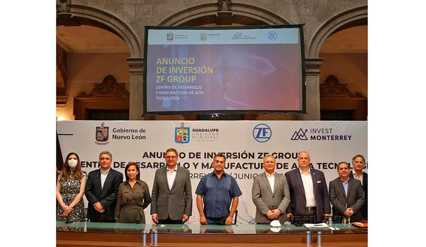 ZF Group tendrá una planta en Guadalupe, NL