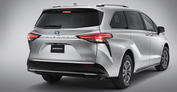 5 cualidades de la Sienna 2021 de Toyota